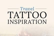 Travel Tattoos / A collection of awesomely beautiful travel inspired tattoos.
