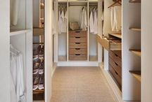Home inspiration: dress room