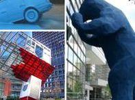Unusual Public Art / Interesting and unusual public art designs from around the world.
