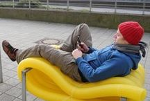 Street Furniture - Breaking Tradition / Not your average street furnture range...