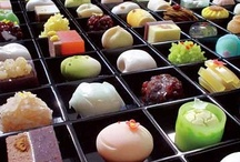 Japan: Wagashi ... Sweets of the Tea Ceremony / These artful creations are traditionally served during the tea ceremony to complement the bitter macha. / by Amy Laslow