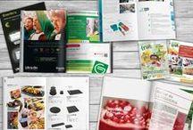 Diseño de catálogos / editorial / Diseño gráfico de catálogos, memorias anuales, folletos, dípticos, trípticos, flyers
