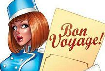 Bon Voyage - Vintage / Reisen in die Vergangenheit / by Liane Hoffmann