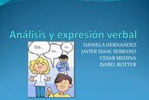 Análisis y expresión verbal. / Actividades de la clase de Análisis y expresión verbal.  GRUPO 1