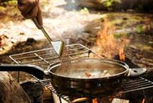 Camp and fire cooking