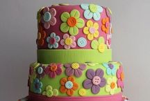 Cakes, biscuits and buns / Decorating ideas