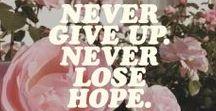 Staying Strong / #AlwaysKeepFighting <3