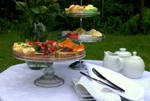 Balkissock Lodge B&B: Evening Meals / Photos of afternoon teas and evening meals platters plus ingredients and recipes.
