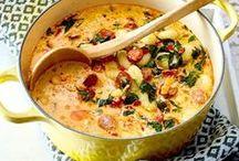 Suppen und Eintöpfe / Perfekt für die kalte Jahreszeit: entdeckt spannende Suppen und Eintöpfe