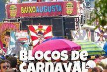 Dicas de Viagem - Carnaval / Dicas de viagem para fazer no carnaval e também a programação do carnaval e blocos de rua de São Paulo