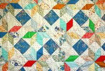 Patches & Pieces / The results of artfully arranging small cuts of beautiful textiles / by Catherine Diane