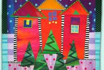 Quilted Houses / by Catherine Diane