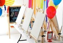 Cute For A Kids Party / DIY Kids Party Ideas. Create a cute character or themed party for your kids. Budget friendly creative ideas for kid's Birthday parties. / by One Savvy Mom ™ onesavvymom.net