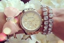 Keeping Time / My love of everything that shines! The more bling the better!