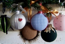 Christmas Ornaments - DIY / by Chrissie Long
