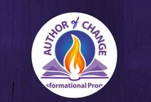 Writing for Change -- How to Become an Author of Change / You can write a book that inspires the change you want to see in the world. I call that becoming an author of change. / by Pure Spirit Creations