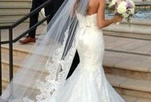 bride style / Wedding dresses that I love.  Current Wedding dress trends.  A lot of skinny girls.