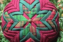 Quilted Ornaments / by Catherine Diane