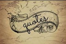 Quotes / Quotes about travel, adventure, and life!