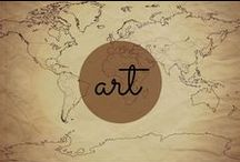 Art & Artifacts / Gorgeous paintings, sculptures and other art, as well as artistic relics and antiquities from time gone by.