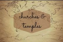 Churches & Temples / The world's most beautiful churches, temples, mosques, synagogues, and other religious sites.