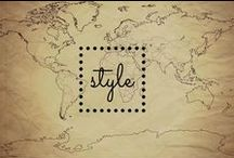 Style / Style Inspired by: Travel | Adventure | Culture | Nature | Treasure | Military | Safari | American Southwest | Bohemian