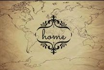 Home Decor / Interior Design & Home Decor | British Colonial | Travel-Inspired | Bohemian | Southwest | Explorer-Inspired | Naturalist-Inspired | Libraries galore!