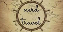 Nerd Travel / All the nerdy destinations you crave... film sets from Star Wars, Lord of the Rings, etc., Harry Potter and other literary destinations, museums, and interesting science-y spots! Because travel is the best way to learn!