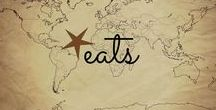 Round the World Eats / Food from around the world, including articles on what to eat when you travel, recipes that help bring the world to you, and more!