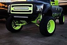 Lifted / Any truck lifted or any massive truck that actually looks cool slammed. And I might throw in a funny lifted car too
