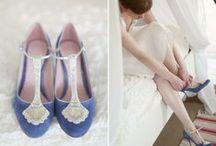 Inspiration - Wedding Shoes / Subtle bridal shoe vs. statement heel?