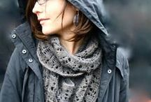 I have a scarf obssession / scarves of all kinds / by Fyre Woman