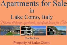 Luxury Apartments for Sale Lake Como, Italy / For buying luxury villas at Lake Como is one of the most celebrated real estate investment destinations in the world. Lake Como is one of the most beautiful place in the world. follow us on twitter @PropertyComo