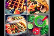 Eat clean, healthy eating / Eat clean