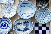 Crockery / Cups, bowls, teapots, jars, decanters, and various vessels for food and drink.