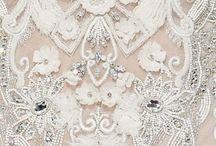 Broderie haute-couture / Nos idées pour créer la ceinture de la robe de mariée de Marie-Gabrielle