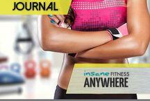 Journal / Fitness and food journal printable