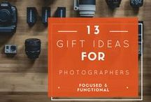 Gifts for Photographers / Know someone who's 'snap happy?' Perhaps you have a professional photographer in the family. There's nothing that will keep them snapping away like some of these great gifts.