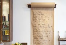Menu / Taking inspiration from meals past.