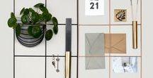 Office / office,design, wallgrid, wall storage, wall memo, memo board