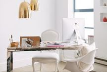 Office / Chic, classy & glam home office ideas, Office inspiration