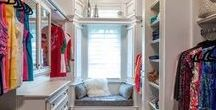 Closet Ideas / Inspirations for new homes that can be built by Padilla Homes. Customize away!