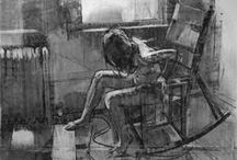 after a sight / - art studies -