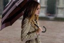 fashion: Rainyday / 雨の日スタイル カラーコーディネート