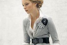 fashion: Color-Gray / グレーのアイテムを活かしたコーディネート