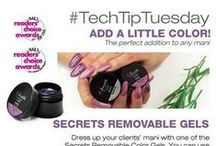Nail Tech Tips! / Looking for Technical tips on how to use Nail Art and Nail Enhancement Products? Check out our Nail Tech Tips on helpful tips, tricks and demos for using NSI Products!