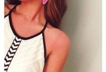 fashion: Summer outfits / 夏のリゾートウェア 参考コーディネート