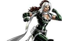 Marvel personagens