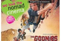 We love The Goonies / As part of our partnership with The Lexi Cinema, each month we offer the local community a big movie at a small price with Greene Sundays. In the warmer summer months we like to move our audience outside to enjoy a Nomad screening instead.   In August we're offering half price tickets to see The Goonies at the Nomad open-air screening in the Coram Secret Garden. We've created this board to celebrate the all-time classic family film!