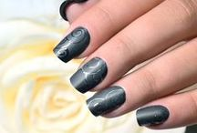 Mad about Matte / A matte finish has become an everyday staple in the modern manicure world. Get inspired by stylish Matte Nails and nail art! NSI Polish Pro Gel Matte Top Coat is the Ideal Gel Polish Top coat.